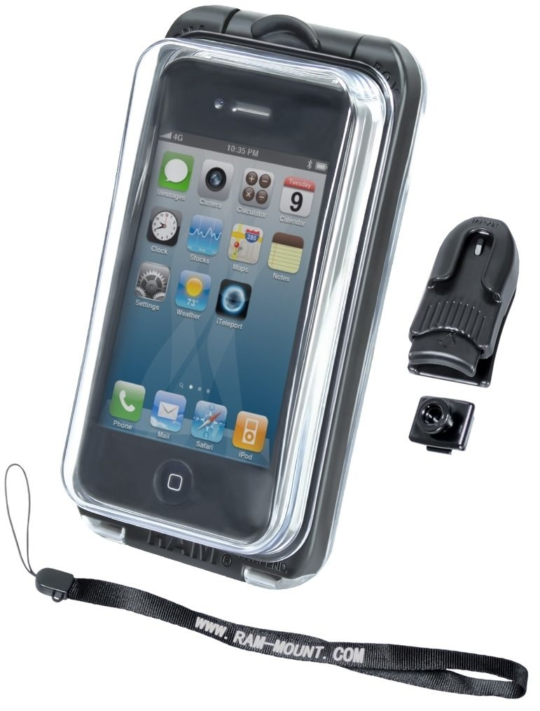 RAM Mounts Aqua Box PRO 10 - mit Gürtel-Clip u. Handschlaufe