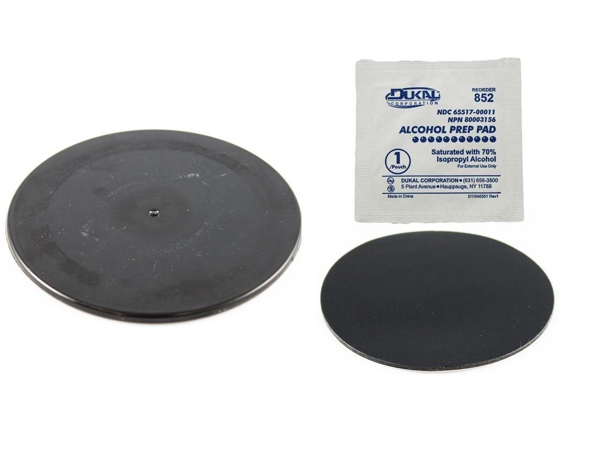 RAM Mounts Klebebasis für Saugfüsse - schwarze Basis (ca. 90 mm Durchmesser)