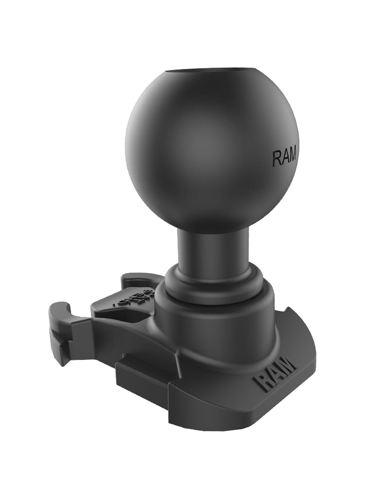RAM Mounts GoPro Kamera-Adapter (für Original GoPro-Basis) - Verbundstoff, B-Kugel (1 Zoll), im Polybeutel
