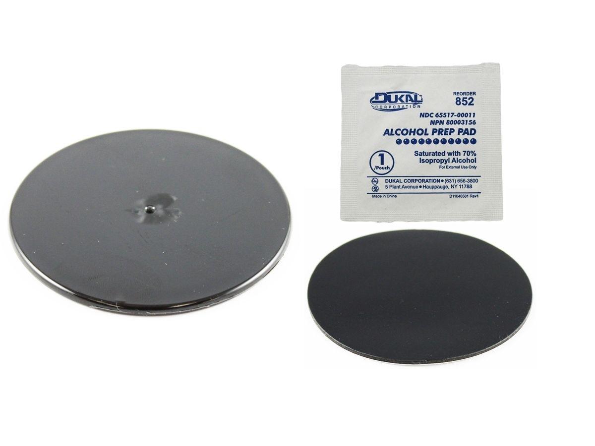 RAM Mounts Klebebasis für Saugfüsse - schwarze Basis (ca. 75 mm Durchmesser)
