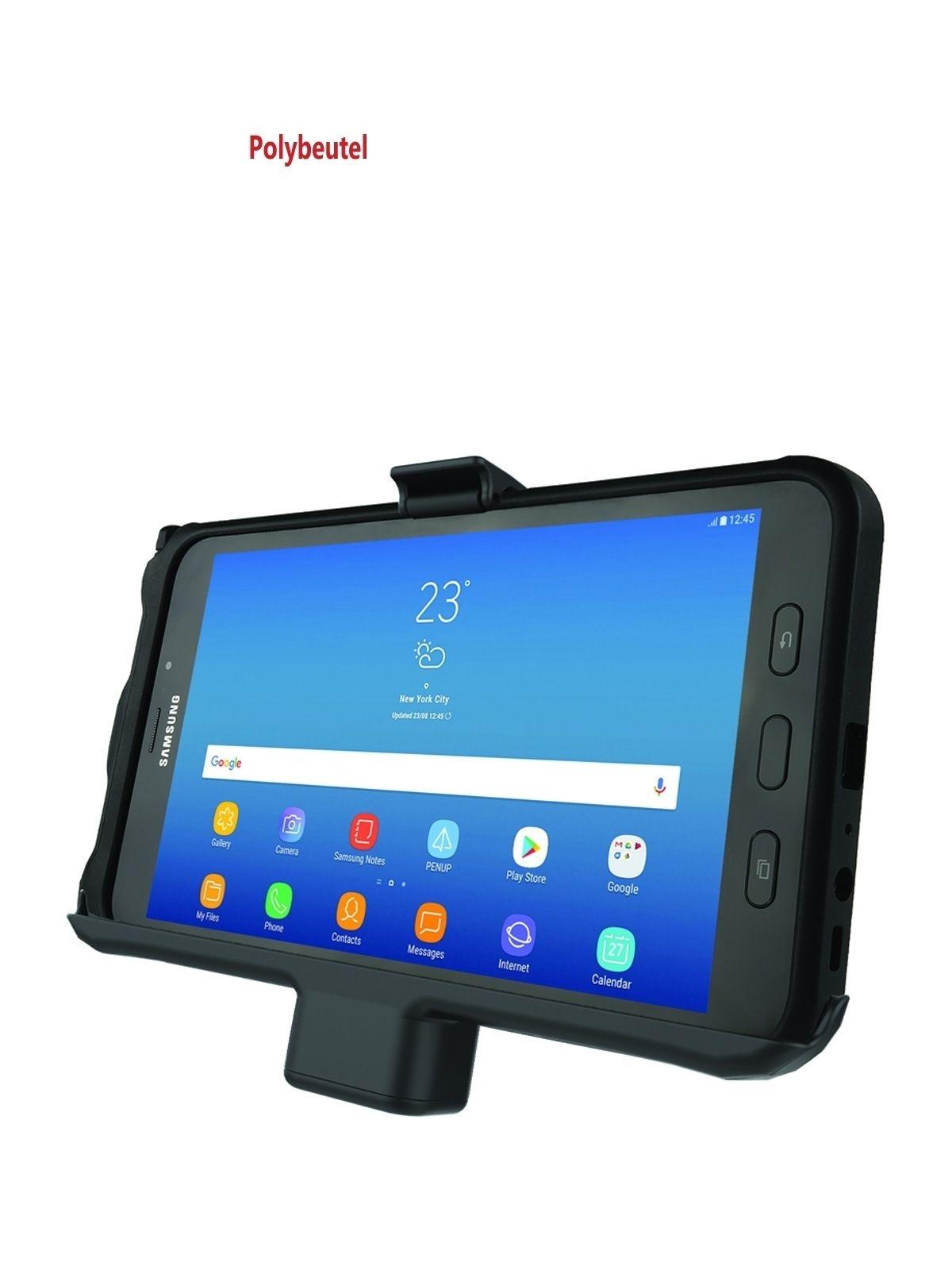 RAM Mounts EZ-Roll'r Form-Fit Halteschale für Samsung Galaxy Tab Active2 - Stromanbindung, AMPS-Aufnahme, Zigarettenanzünder-Adapter