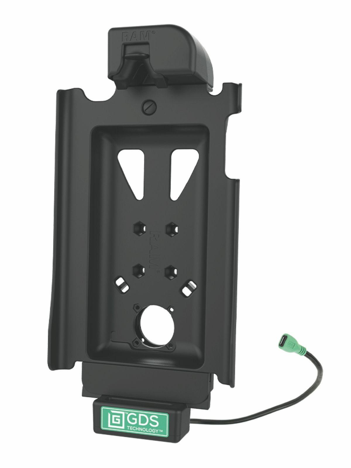 RAM Mounts GDS Tough-Dock Samsung Tab A 10.1 (SM-T510) in IntelliSkin-Lade-/Schutzhüllen - microUSB, 15 W Ausgang, AMPS-Anbindung