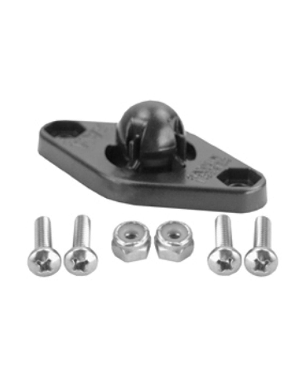 RAM Mounts Adapter für original Garmin-Halterungen - Diamond-Anbindung (Trapez), Schrauben-Set