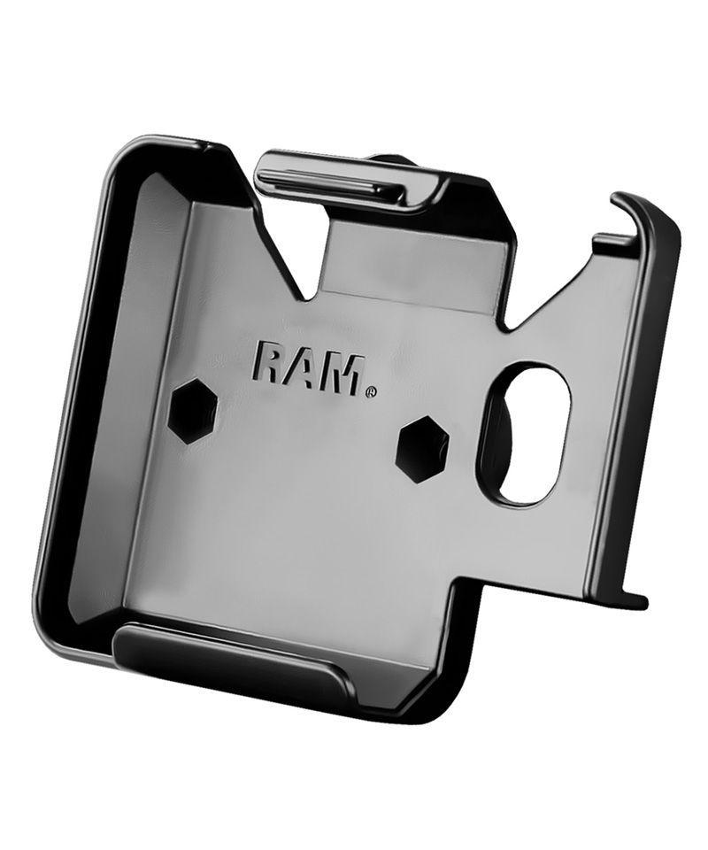 RAM Mounts Gerätehalteschale für Garmin zumo 220 / nüvi 220 & 5xx Serie (ohne Schutzhüllen) - Diamond-Anbindung (Trapez), Schrauben-Set, im Polybeutel