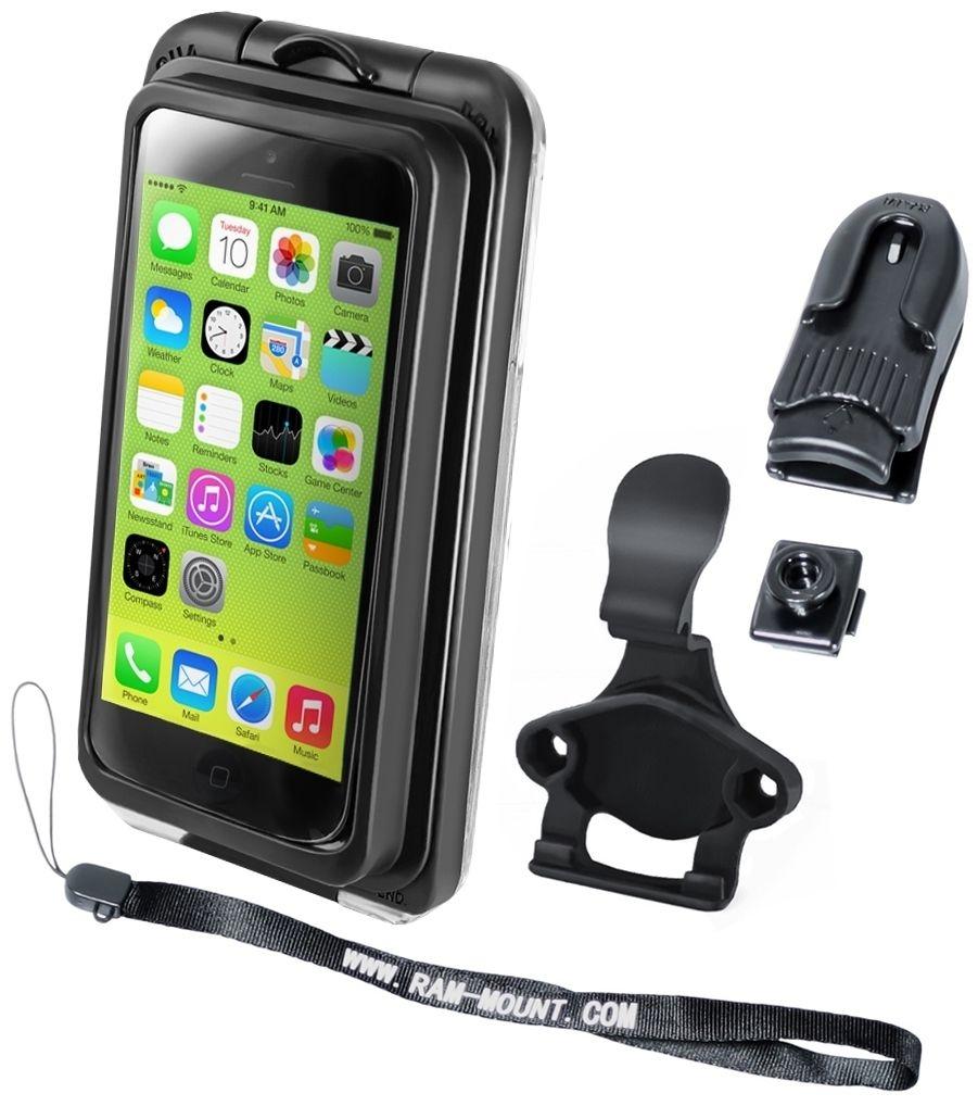 RAM Mounts Aqua Box PRO 20 für Apple iPhone 5 - Befestigungs-Clip, Gürtel-Clip, Handschlaufe