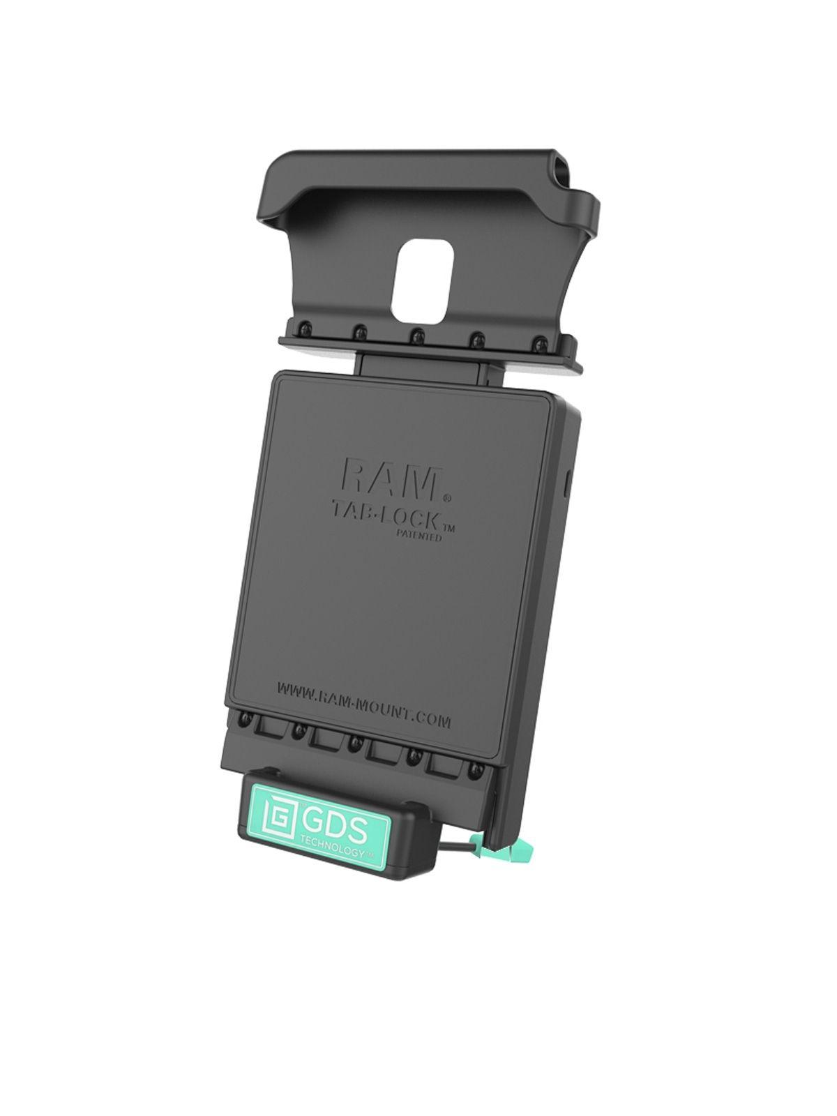 RAM Mounts GDS Dockingstation Samsung Tab Active 2 in IntelliSkin-Lade-/Schutzhüllen - Stromanbindung, AMPS-Aufnahme