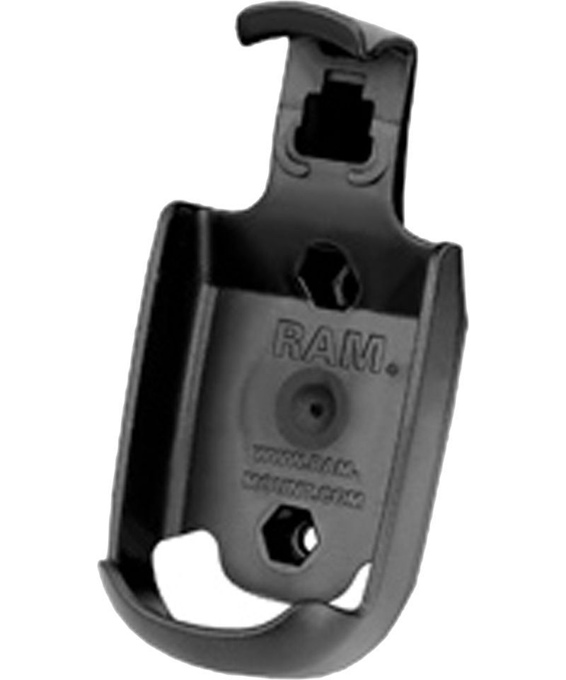 RAM Mounts Gerätehalteschale für Magellan eXplorist 100/200/210/300/400/500/500LE/600 (ohne Schutzhüllen) - Diamond-Anbindung (Trapez), Schrauben-Set,