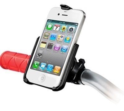 RAM Mounts Verbundstoff-Lenkerhalterung für Apple iPhone 4/4S - mit Lenkerbasis, im Polybeutel